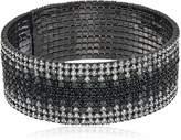 Anne Klein Hematite-Tone Ombre Cuff Bracelet