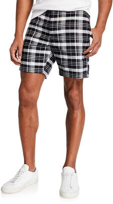Michael Kors Men's Plaid Comfort Shorts