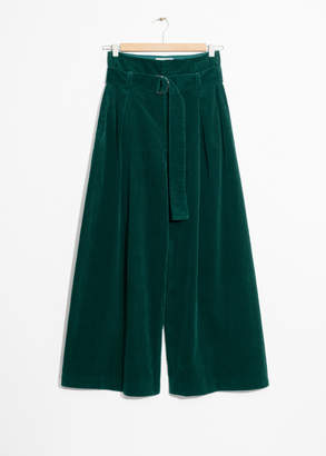 And other stories Wide Corduroy Pants