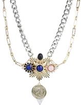 Asos Coin Constellation Necklace - Multi