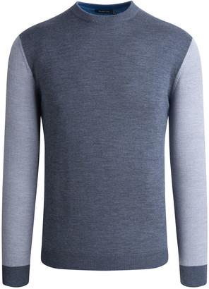 Bugatchi Men's Colorblock Long-Sleeve Sweater
