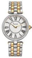 Freelook Women's HA1025GM-3 Vendome Classic Analog Two Tone Swarovski Bezel Watch