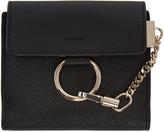 Chloé Black Small Faye Wallet