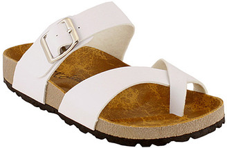 R&K Rk Collection RK Collection Women's Sandals WHITE - White Wrap Sandal - Women