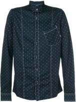 Armani Jeans all over print shirt