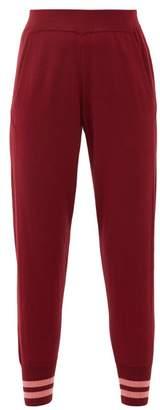 LNDR Arctic Merino-wool Track Pants - Womens - Burgundy