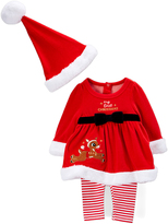 Rashti & Rashti Red Rudolph Dress Pajama Set - Infant