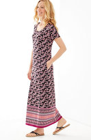 J. Jill Seamed Knit Maxi Dress