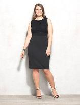 dressbarn BEYOND by Ashley Graham Lace Scuba Dress Plus