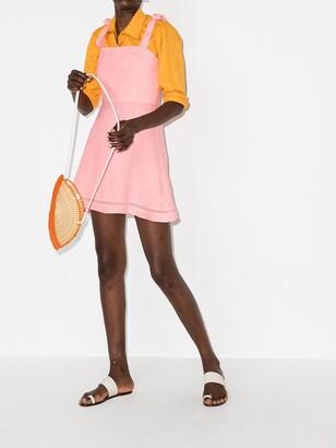 HONORINE Kiki linen minidress