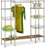 Honey-Can-Do Freestanding Closet With Basket Shelves