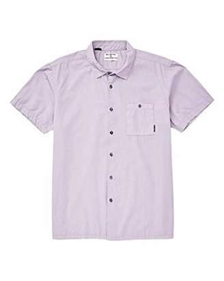 Billabong Men's Wave Washed Short Sleeve Shirt 2XL
