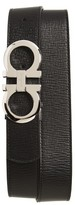 Salvatore Ferragamo Men's Revival Reversible Leather Belt