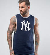 Majestic Yankees Longline Singlet Exclusive To Asos
