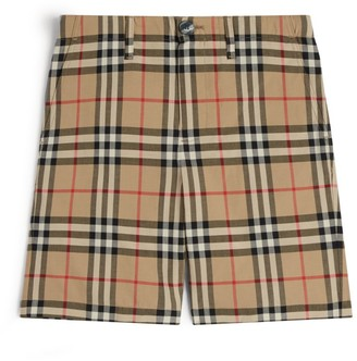 Burberry Kids Vintage Check Shorts (3-12 Years)