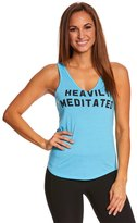 Yoga Rx Heavily Meditated Garage VNeck Tee - 8152173