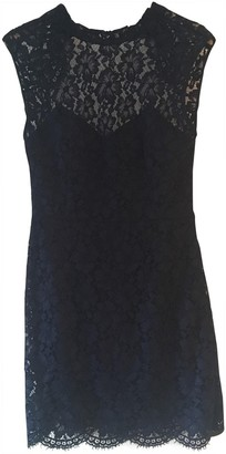 Sandro Navy Lace Dress for Women
