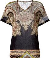 Etro abstract print T-shirt - women - Spandex/Elastane/viscose - 42