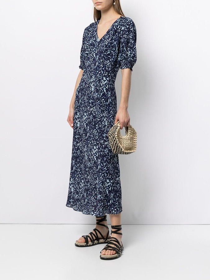 Thumbnail for your product : Nicole Miller Evening garden midi dress