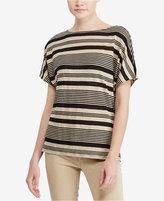 Lauren Ralph Lauren Striped Linen Top