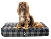 Bone Designs Comfy Mattress Dog Bed Blue Plaid Small