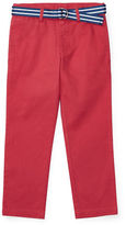 Ralph Lauren Childrenswear Suffield Belted Stretch Chino Pants