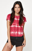 La Hearts Tie-Dye Cropped T-Shirt