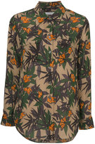 Equipment butterfly shirt - women - Silk - S