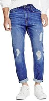 GUESS Tapered Crop Jeans