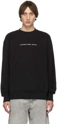 Diesel Black S-Bay-Copy Sweatshirt