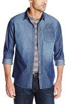 Calvin Klein Jeans Men's Medium Indigo Shirt