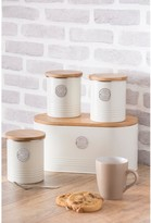Typhoon Living Tea, Coffee and Sugar Storage Canisters - Cream