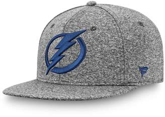 Men's Fanatics Branded Gray Tampa Bay Lightning Marled Tech Fitted Hat