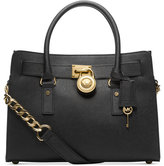MICHAEL Michael Kors Studio Hamilton Saffiano Leather East West Satchel