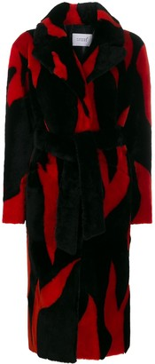 Love, Fire Common Leisure Lovefire oversized longline coat