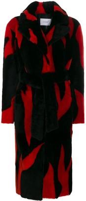 Love, Fire Lovefire oversized longline coat