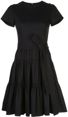 Carolina Herrera Tiered Mini Dress