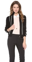 RED Valentino Embroidered Ribbons Sweater