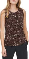 Tommy Hilfiger Animal-Print Sleeveless Top