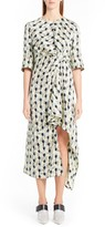 Marni Women's Garland Silk Jacquard Dress