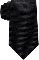 Sean John Men's Diamond Solid Tie