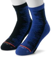 adidas Men's 2-pack Frequency ClimaLite High Quarter Socks