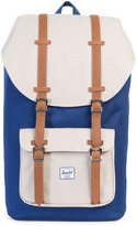 Herschel Little America Backpack Blue & Off White