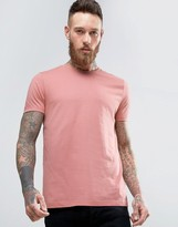 Asos T-Shirt In Pink With Crew Neck