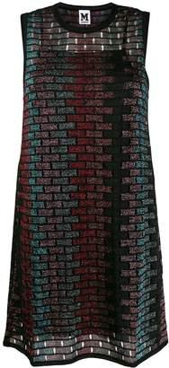 M Missoni glittered sleeveless dress