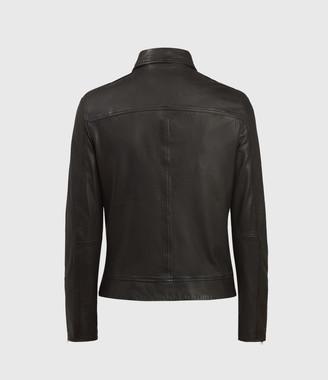 AllSaints Laverton Leather Jacket