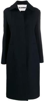 Jil Sander loose-fit single-breasted coat