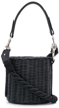 Wicker Wings Lu bucket bag