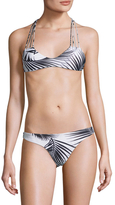 Mikoh Seychelles Criss-Cross String Back One Piece