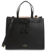 Kate Spade Hayes Street Isobel Leather Satchel - Black
